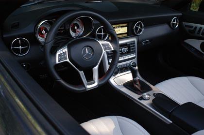 Mercedes SLK Test: Innenraum