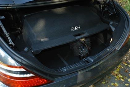 Mercedes SLK Test: Kofferraum, trunk