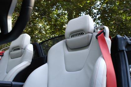 Mercedes SLK 200 Test: Sitze