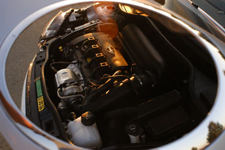 Mini Cabrio John Cooper Test: Motor, engine