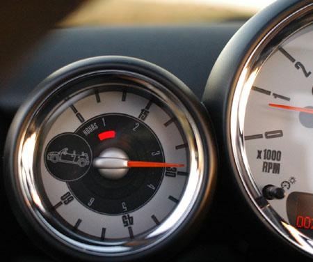 Mini Cabrio John Cooper Test: opentimer