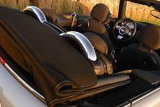 Mini Cabrio John Cooper Test: safety