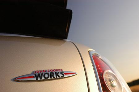 Mini Cabrio John Cooper Works: Verdeck