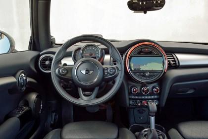 Mini Cooper S 2014: Cockpit, Lenkrad