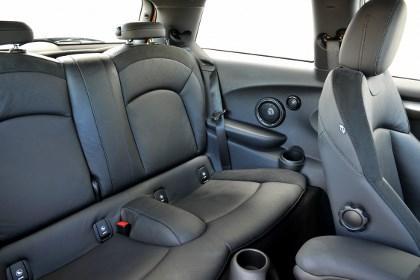 Mini Cooper 2014 Test: hinten sitzen
