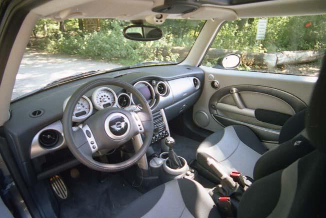 Mini Cooper S: Innenraum, Cockpit