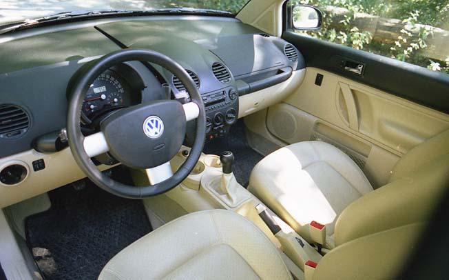 VW New Beetle: Innenraum, Cockpit