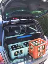 Mini Cooper: Kofferraum, trunk, boot
