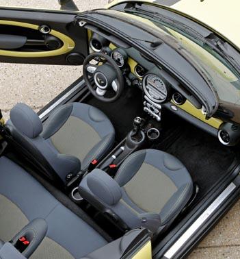 Mini Cabrio Test: Innenraum