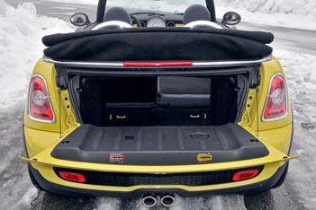 Mini Cooper Cabrio: Kofferraum, trunk, boot