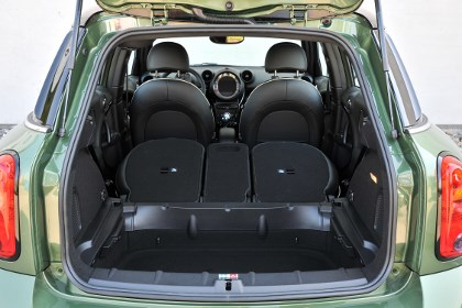 Mini Countryman: Kofferraum, trunk, boot