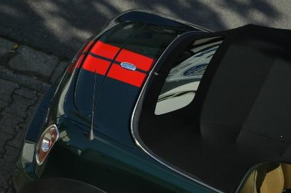 Mini Roadster John Cooper Works Test: Dach