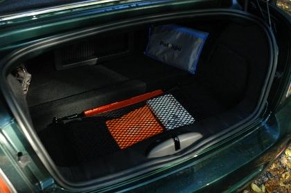 Mini Roadster John Cooper Works Test: Kofferraum, trunk