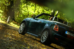 Mini Roadster John Cooper Works: offen