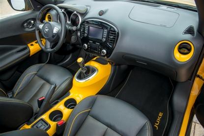 Nissan Juke: Cockpit, Innenraum, Ledersitze