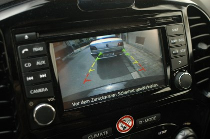 Nissan Juke Nismo Test: Kamera