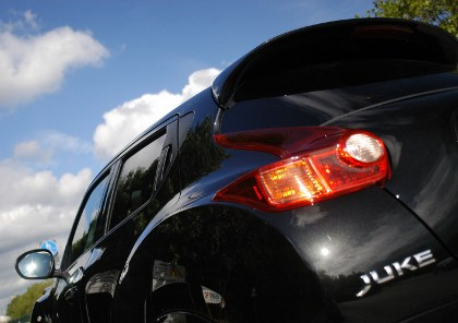 Nissan Juke Nismo: Spoiler, Heckspoiler