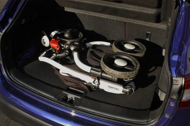 Neuer Nissan Qashqai: Kofferraum, trunk, Ladekante, boot