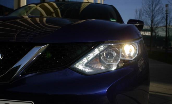 Neuer Nissan Qashqai Test: Scheinwerfer, Frontpartie, Front