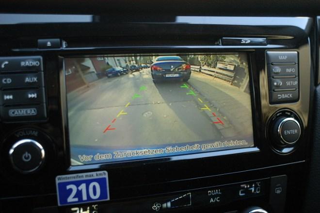Nissan Qashqai Test: Kamera, Rückfahrkamera, Parken