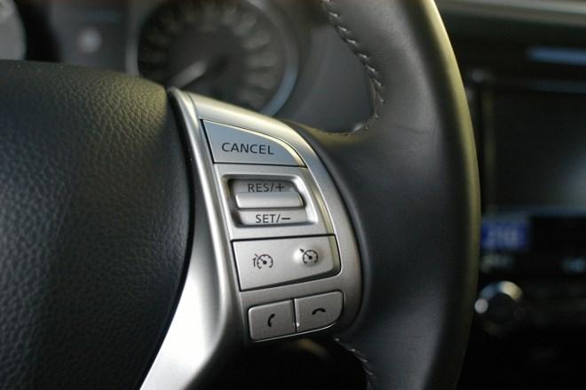Neuer Nissan Qashqai Test: Lenkrad, Multifunktionslenkrad