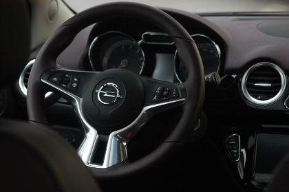 Opel Adam: Cockpit, Lenkrad, steering wheel
