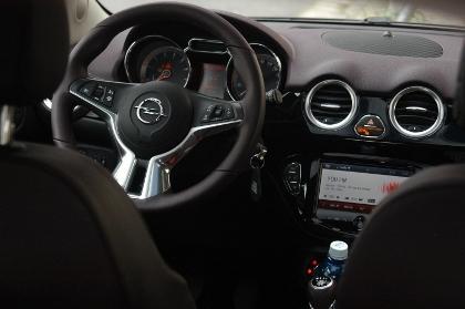 Opel Adam Test: Instrumente