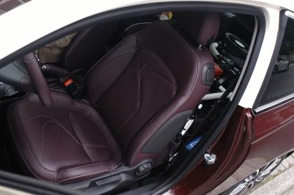 Opel Adam Test: Sitze, vorne sitzen