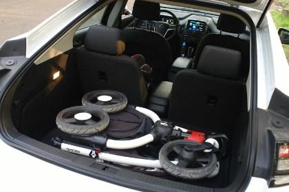 Opel Ampera: Kofferraum, trunk, boot