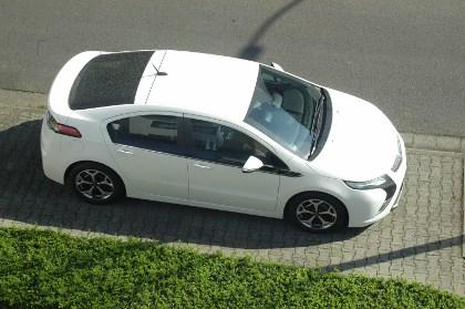 Opel Ampera: Elektroauto Test