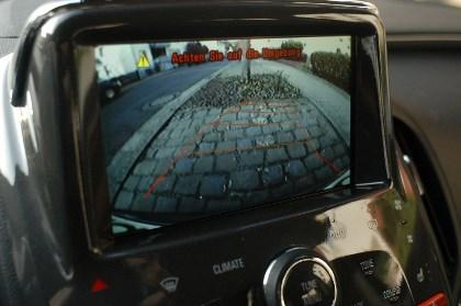 Opel Ampera: Kamera, Sicht