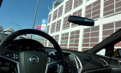 Opel Astra GTC: Glasdach