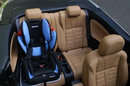 Opel Casacada Cabrio: hinten sitzen