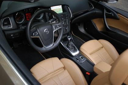 Opel Casacada: Innenraum, interior, Cockpit