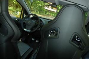 Opel Corsa OPC Test: Sitze