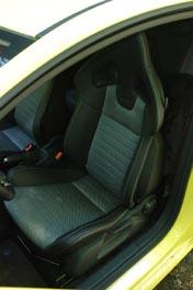 Opel Corsa OPC Test: Sportsitze