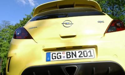 Opel Corsa OPC Test: Auspuff