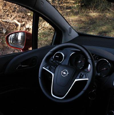 Opel Meriva Test: Cockpit