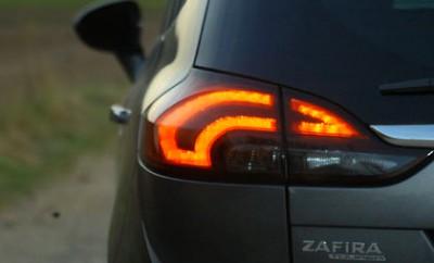Opel Zafira Diesel Test