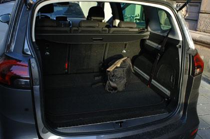Opel Zafira Test: Kofferraum, trunk, boot