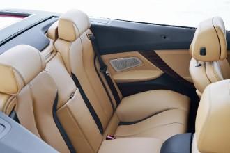 BMW 6er Cabrio Facelift, Hintersitze