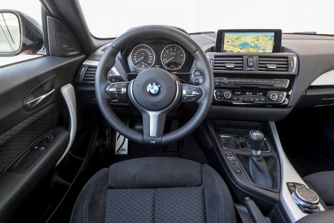 BMW 1er Facelift Fahrbericht, Cockpit