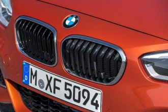 BMW 1er Facelift Fahrbericht, Front