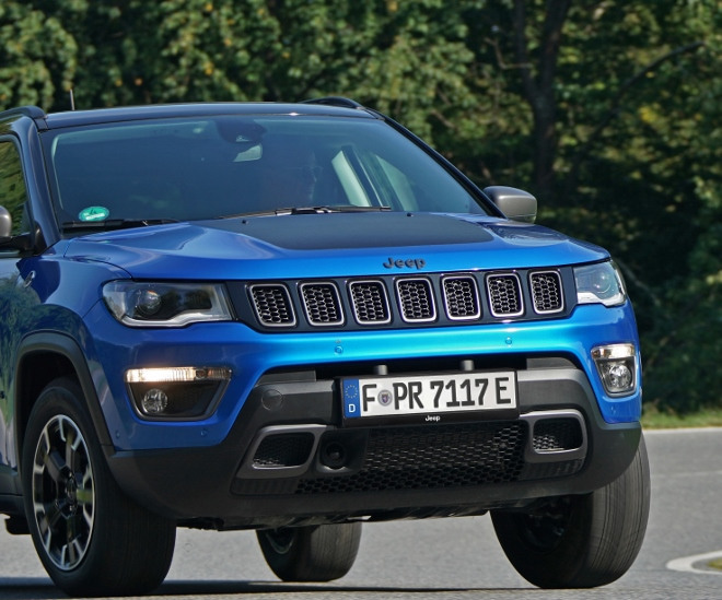 Jeep Compass 4xe Trailhawk Plug in Hybrid