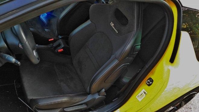 DS3 Performance Sportsitz schwarz, Vordersitze