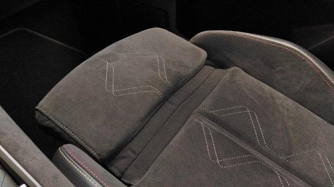 DS7 Sitzverstellung, Alcantara Leder Bezug
