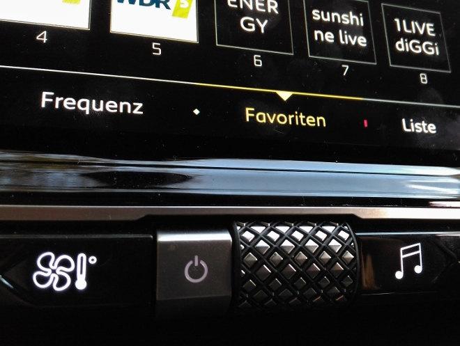DS7 Innenraum Radio, Schalter, Lautstärke