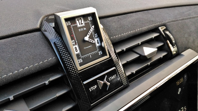 DS7 weiss Uhr Armaturenbrett, Watch