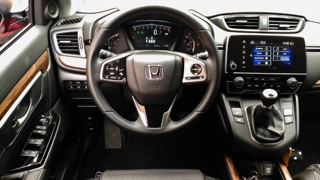 Honda CR-V Cockpit
