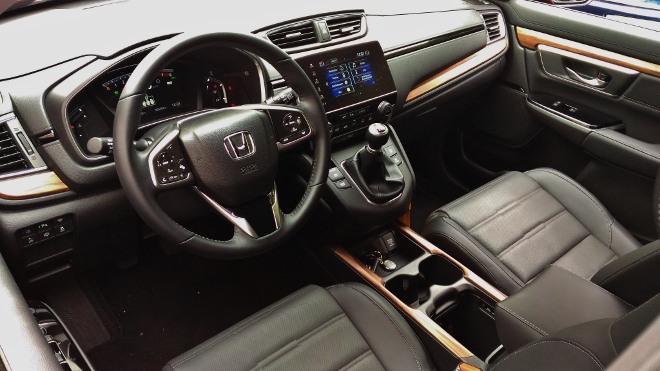 Honda CR-V Cockpit und Armaturenbrett